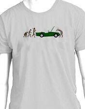 """Daimler Dart SP250 """"evolución del hombre ruptura"""" T-Shirt"""