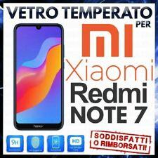 PELLICOLA IN VETRO TEMPERATO Per XIAOMI REDMI NOTE 7/NOTE 7 PRO Protezione LCD