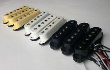 Strat pickup set: staggered AlNiCo 5 magnets, plastic bobbin, 50/50/52mm
