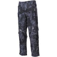 Mfh Pantalones De Combate Misión Militar Nyco Ripstop Cargo Pantalones Snake Neg