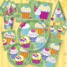 Muffin Cupcake décoration de fête d'Anniversaire Vaisselle jetable