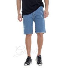 Pantalone Uomo Corto Bermuda Tasca America Jeans Cavallo Basso GIOSAL