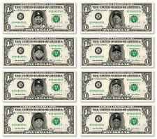 Pro Athletes on a Real Dollar Bill Cash Money Collectible Memorabilia Novelty 1