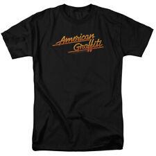 American Graffiti Movie Neon Light Logo Licensed Tee Shirt Adult S-3XL
