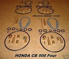 Honda CB 500 Four_K0_-_K2_Vergaser_-_Reparatur - Satz_neu_carburator repair set