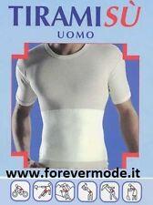 T-Shirt uomo Liabel cotone con fascia lombare contenitiva, sportiva art 4040-813