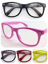 Y1152 Unisex Optical Fashion Eyewear Plastic Frame Glasses/Clear Lens/Party Wear