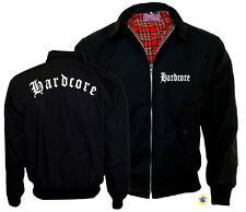 Hardcore Jacke | Harrington-Stil | Brust und Rückendruck | Gabber       237-6-02