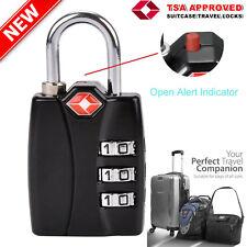 Suitcase Travel PadLock with TSA Approved Combination Luggage Bag Lock Locks