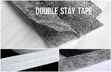 4 mtrs Double Stay/Stabilizaing Tape 30mm Interlining Neckline Hem Edges Seam