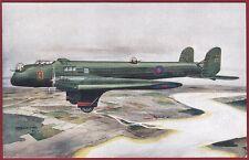 AEREO FAIREY HENDON Aircraft Bomber AVIAZIONE RAF Cartolina Ed. J. SALMON