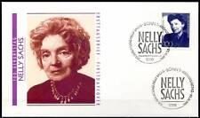 BRD 1991: Nelly Sachs! FDC della nr 1575 con Bonner solo tag speciali timbri! 1612