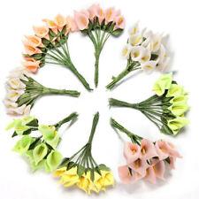 12pcs Artificial Calla Lily Flower Bouquet Home Bridal Wedding Party Decoration