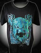 Warrior Skull Evil 666 Gothic Plus Size T-Shirt XS-5XL Übergrösse Biker Celtic