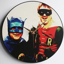"""Del & Rodney - Batman & Robin - 12"""" Vinyl Record Clock - Only Fools and Horses"""