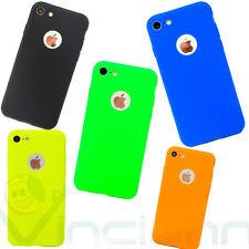 "Pellicola+Custodia cover CANDY per Apple iPhone 7 4.7"" soft case TPU flessibile"