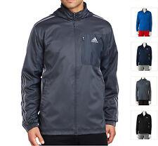 New Adidas Men Drive 2 Athletic Training Track Full-Zip Jacket Size XXL MSPR $60