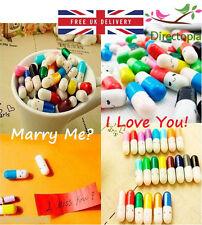 Mensaje secreto adorable Píldora Cápsula Kawaii Lindo Amor mensaje notas San Valentín Kw