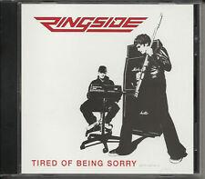 RINGSIDE Tired of EDIT PROMO DJ CD Single Scott thomas