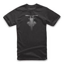 Alpinestars Boxed T Shirt - Black Motorcycle