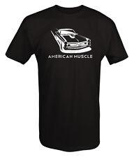 Tshirt -American Muscle Pontiac GTO Racing Muscle Car Goat