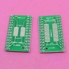 SMD IC Adattatore Board SO28 SOP28 TSSOP 28 SOIC 28 a DIP28 Convertitore PCB Piastra
