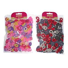 Una confezione da 300/200 Mini Pony elastici Bobbles Fasce Per Capelli Testa per i bambini/ragazze