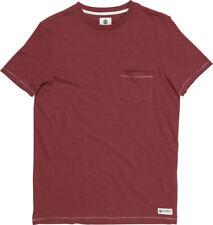 Elemento Emory Manga Corta Camiseta en rojo sangre