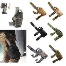 Tactical Army Drop Leg Pistol Holster Rig HandGun Thigh Elite Police Swat Puttee