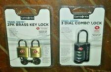 Samsonite Travel Sentry Locks! Choose from *2* Variations!