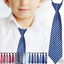CRAVATTA BAMBINO blu mod.1 cravattino 2/16 anni ENTRA TANTI COLORI art. D0481