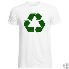 Recycle Logo T-shirt (riscaldamento globale teoria Bang Big Planet BUFFO TV dell' ambiente