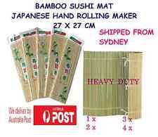 Bamboo Sushi Roller Mat Japanese hand rolling maker 27 x 27 cm.- SYDNEY