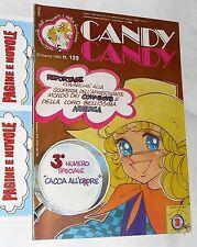 CANDY CANDY n. 129 - anno 4° - 1° ed. 1983 (no inserto lady oscar)