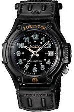 Casio FT500WV-1B Mens Black Forester Analog Sports Watch Nylon Velcro Band