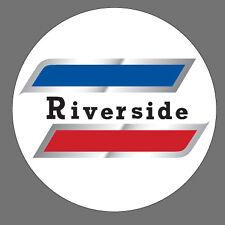 Vintage look Wards Riverside Benelli Mojave Gas Tank Vinyl Decal Sticker