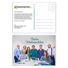 Weihnachtskarten Business.100 Weihnachtskarten Weihnachten Postkarten 221050 Sa Günstig Kaufen