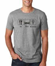 Hot4TShirts Eat Sleep Basketball Funny T-Shirt For Men