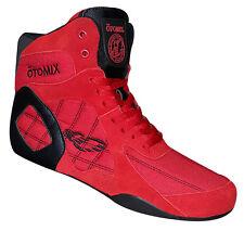 Otomix Ninja Warrior Stingray Bodybuilding Combat MMA Wrestling Shoe (Red)
