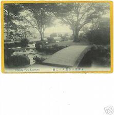 Japanese Postcard - Kenroku Park Kanazawa - Japan