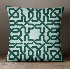 S4Sassy leichte blaue keltische Print dekorative quadratische Kissen Kissenbezug