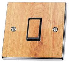 Wood Oak Effect Light Switch Sticker cover vinyl skin decal wooden maple ash tex