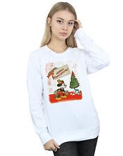 Disney Damen Mickey Mouse Vintage Christmas Sweatshirt
