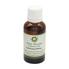 R V Essential Pure Marula Oil Sclerocarya Birrea 100% Natural Cold Pressed