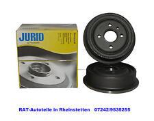 JURID  2 x Bremstrommel -HA-NEU - OPEL Astra F,G,Vectra A,Kadett, Ascona,Combo