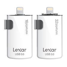 Lexar M20i 16GB 32GB High-Speed Lightning USB 3.0 Flash Drive For iPhone PC MAC