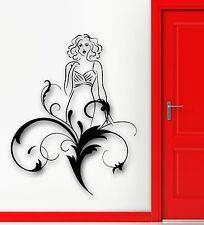 Wall Sticker Vinyl Decal Beautiful Woman Abstract Modern Home Decor (ig1775)