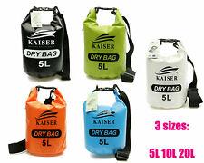 Kaiser 5L 10L 20L Premium Waterproof Dry Bag Sack Kayak Fishing Camping Boating
