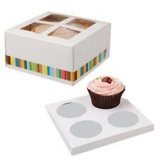 "CAKE BOXES  ~ 6"" CAKE BOX HOLDER ~ 15CMSX15CMSX7.5CMS DEEP ~ SELECT YOUR AMOUNT"