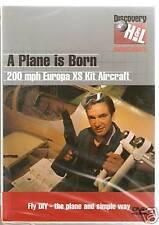 A PLANE IS BORN DVD 200MPH EUROPA XS KIT AIRCRAFT